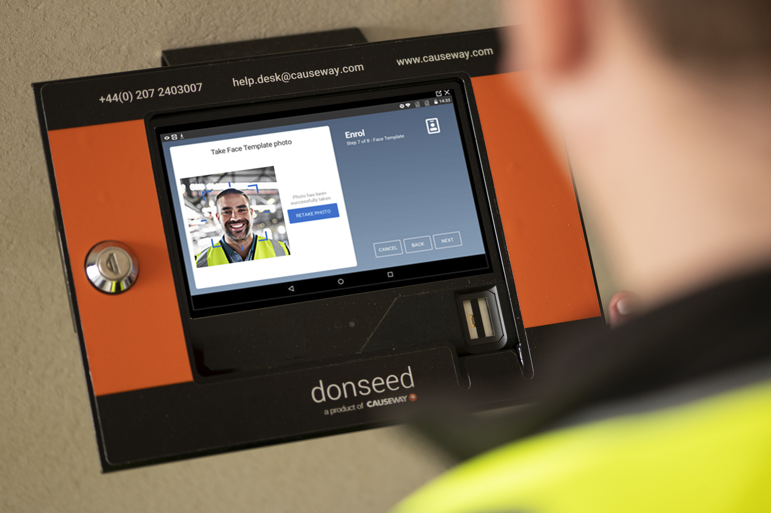 Causeway's Donseed Solution Delivers Safer Site Management for the COVID Era with Contactless Biometric Identity